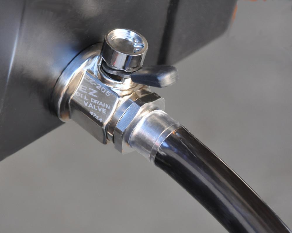 Straight Hose End Ez Oil Drain Valve The Easiest Oil